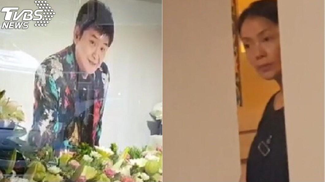 圖/TVBS 親眼看他嚥下「最後一口氣」!她曝賀一航臨終情景惹鼻酸