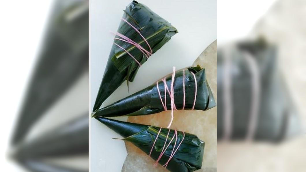 圖/翻攝自混血小鱼干 微博 汨羅牛角粽祭屈原 糯米和鹼成千年不變好滋味