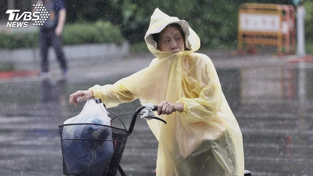 圖/中央社 午後對流雲系發展旺盛 13縣市大雨特報