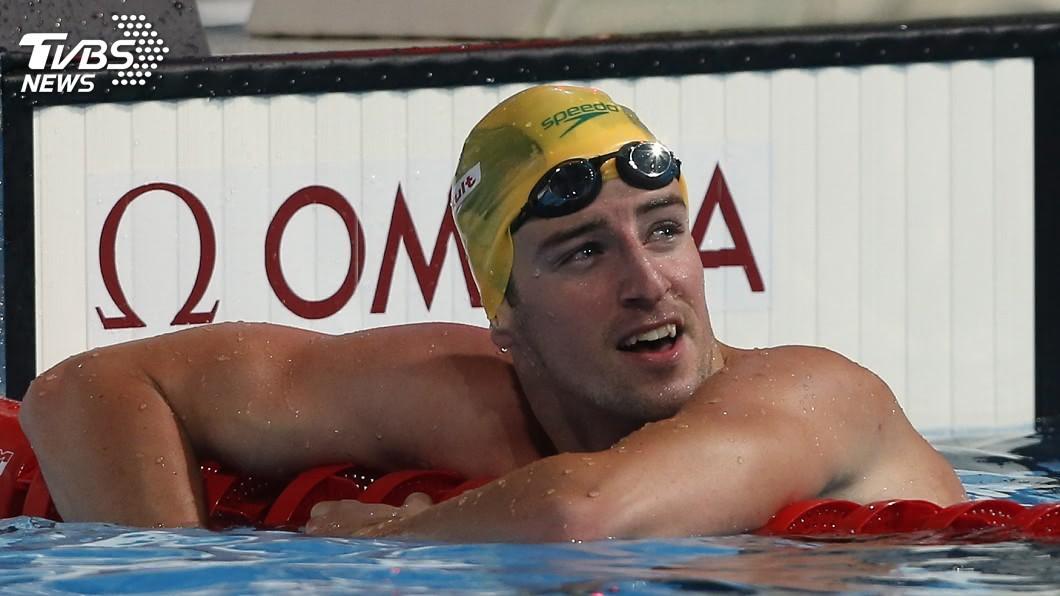 圖/達志影像路透社 兩屆世界冠軍 澳洲游泳名將馬格努森宣布退休