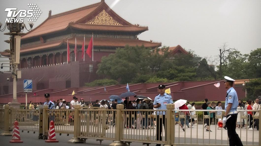 圖/達志影像美聯社 北京政府高度警戒 外媒欲採訪六四馬上被攔