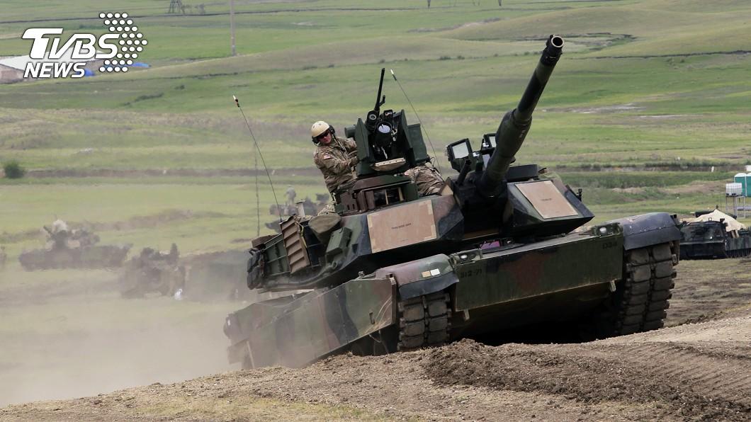 圖/中央社 美政府知會國會 售台22億美元戰車與飛彈軍備