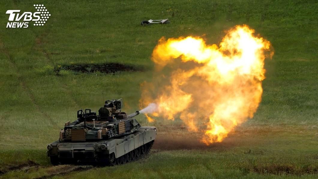 圖/達志影像路透社 M1A2戰車軍購案 國防部證實已向美提發價書