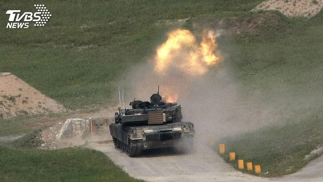 圖/達志影像美聯社 M1A2戰車軍購案 外交部:美方正進行審查程序