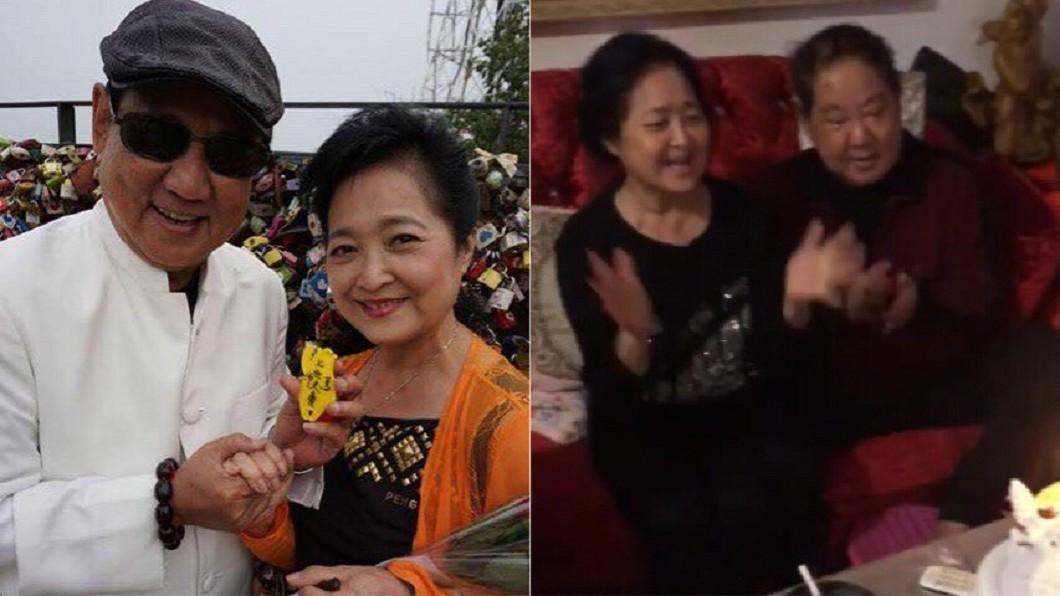 圖/翻攝自馬如龍粉專、林耿平臉書 小女兒結婚沖喜救父!馬如龍剛過80大壽就殞命