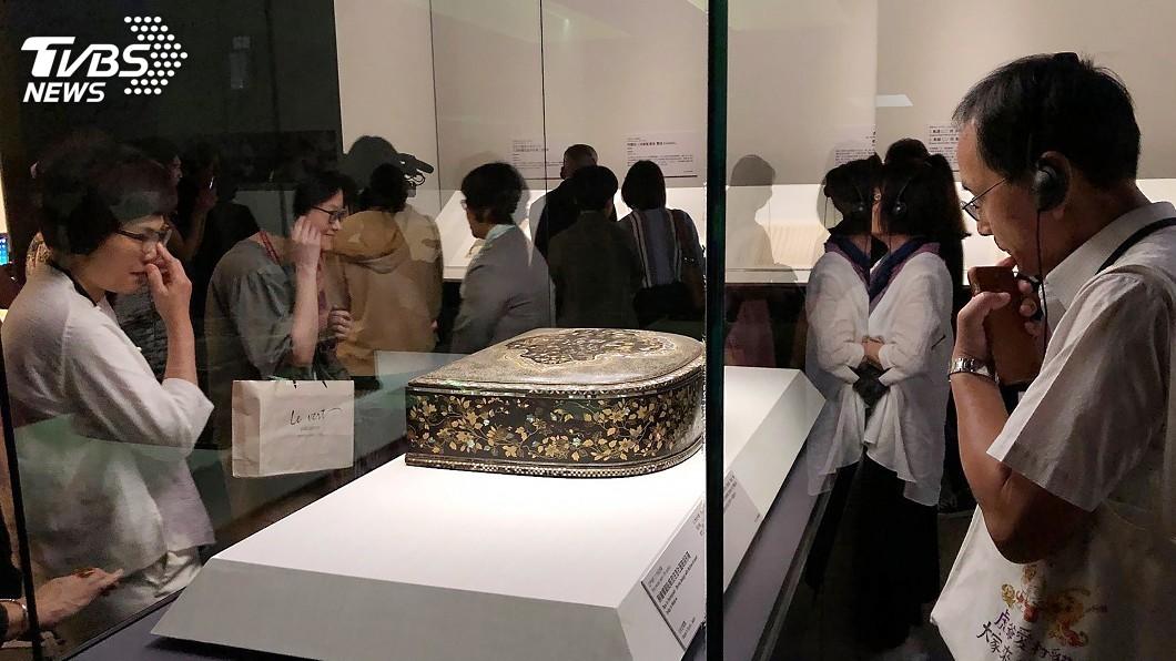 圖/中央社 故宮南院日本神戶展 生動描繪16世紀異國交流