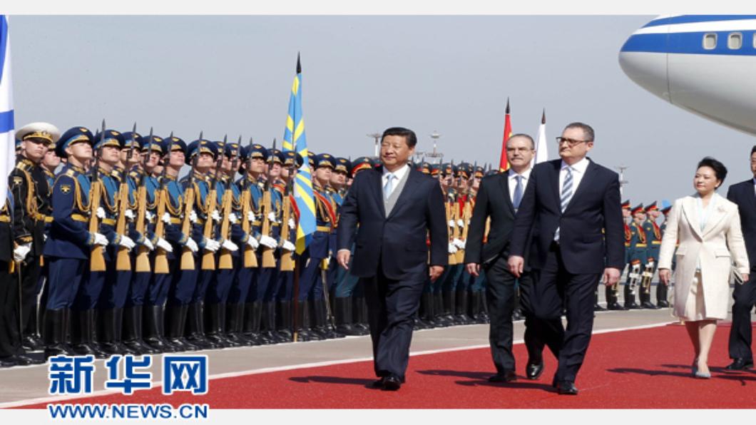 圖/翻攝自 新華網 中俄聯手抗美 簽30份合作提升兩國關係