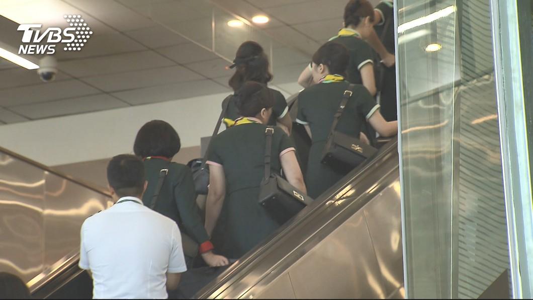 圖/TVBS 空服工會指助長資方 交通部:政府有責維持疏運