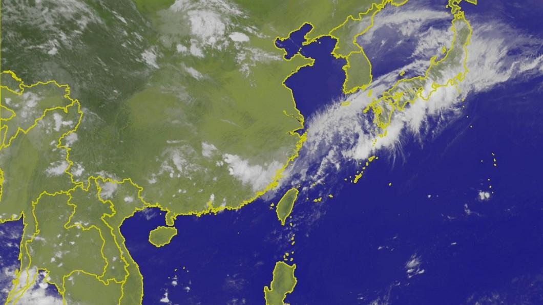 端午連假過後,將會有一道梅雨鋒面通過台灣。圖/中央氣象局