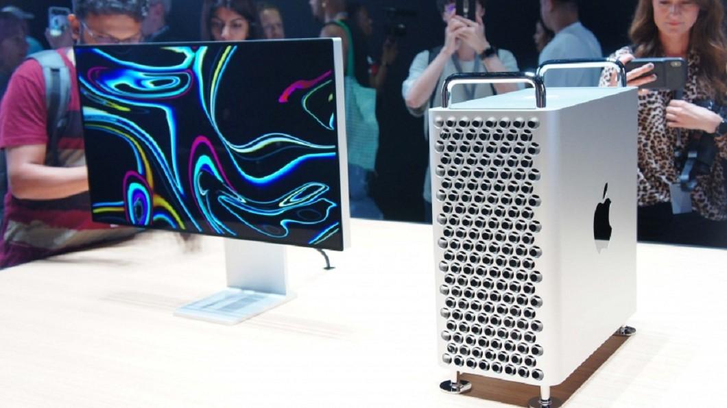新款的Mac Pro,外型再度掀起話題。 圖/中央社 什麼!新款Mac Pro破18萬 這裡卻千元有找?