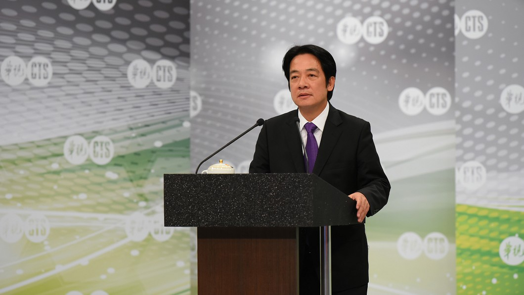 圖/中央社 蔡強調確保台灣主權獨立 賴:兩岸底線要講清楚