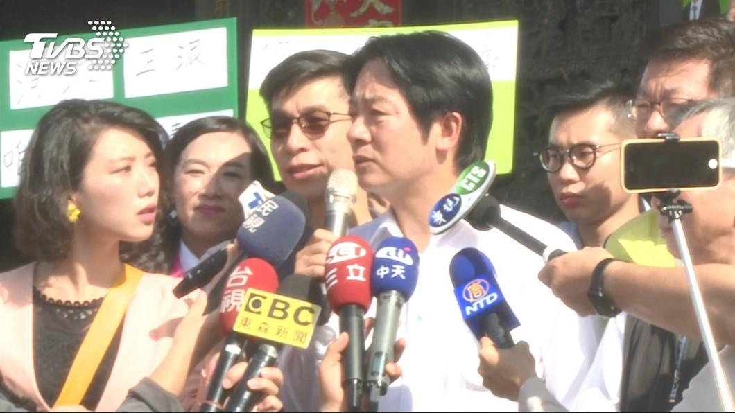 圖/TVBS 香港反送中遊行 賴清德:台灣別對中國存幻想