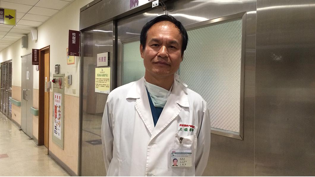 任職於花蓮門諾醫院麻醉科醫師的王鎮華,33歲退伍後,35歲考上台大醫學系。(圖/翻攝自門諾醫院官網)