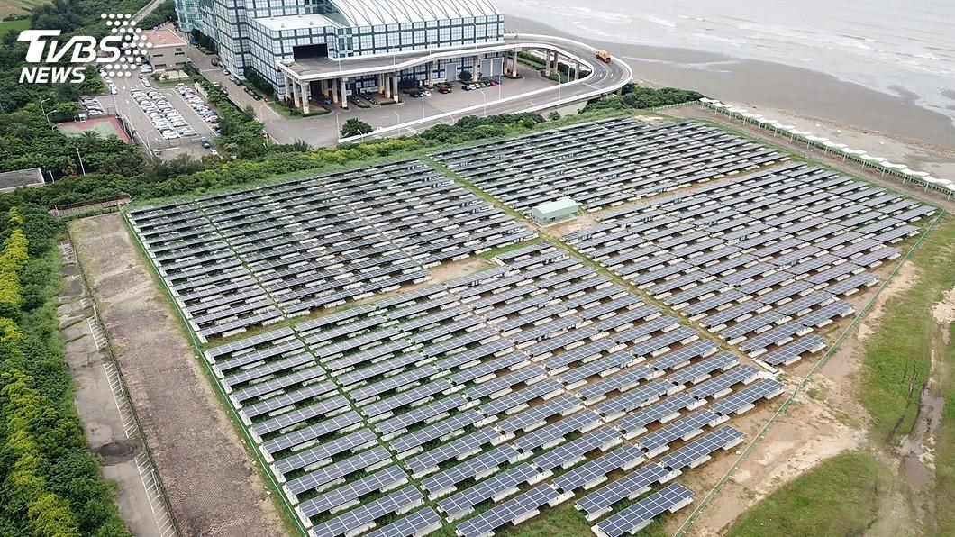 圖/中央社 新竹市推校園太陽能 年效益12.3座大安森林公園