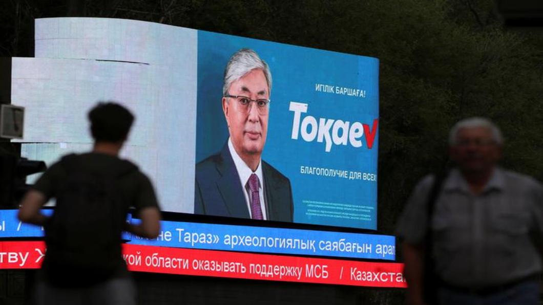 圖/達志影像路透 哈薩克總統3月閃辭 欽點接班人週日勝選