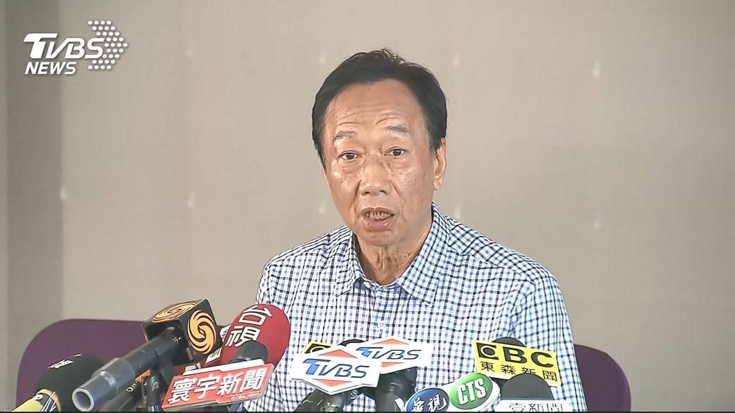 圖/TVBS 總統指國家不會破產 郭台銘:若不嚴重何須年改?
