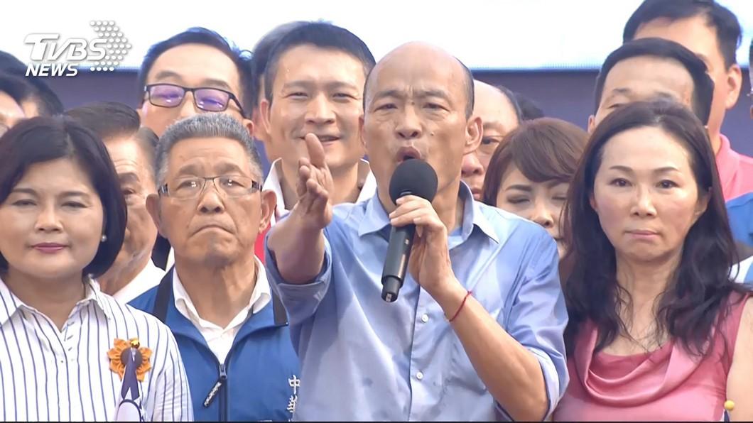圖/TVBS資料畫面 坦言黨內有人「不喜歡他」 韓自比「令狐沖」:不太典型