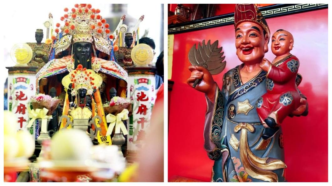 池府千歲和濟公是台灣民間常見的信仰神明。(示意圖/翻攝自臉書) 亂講話惹到孕婦鬼魂 她夢見被金童玉女狂追:抓到妳了