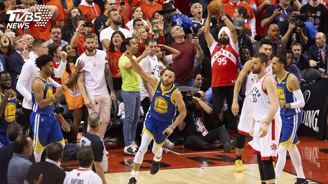 圖/達志影像美聯社 40年來第6支 NBA勇士總冠軍賽客場續命