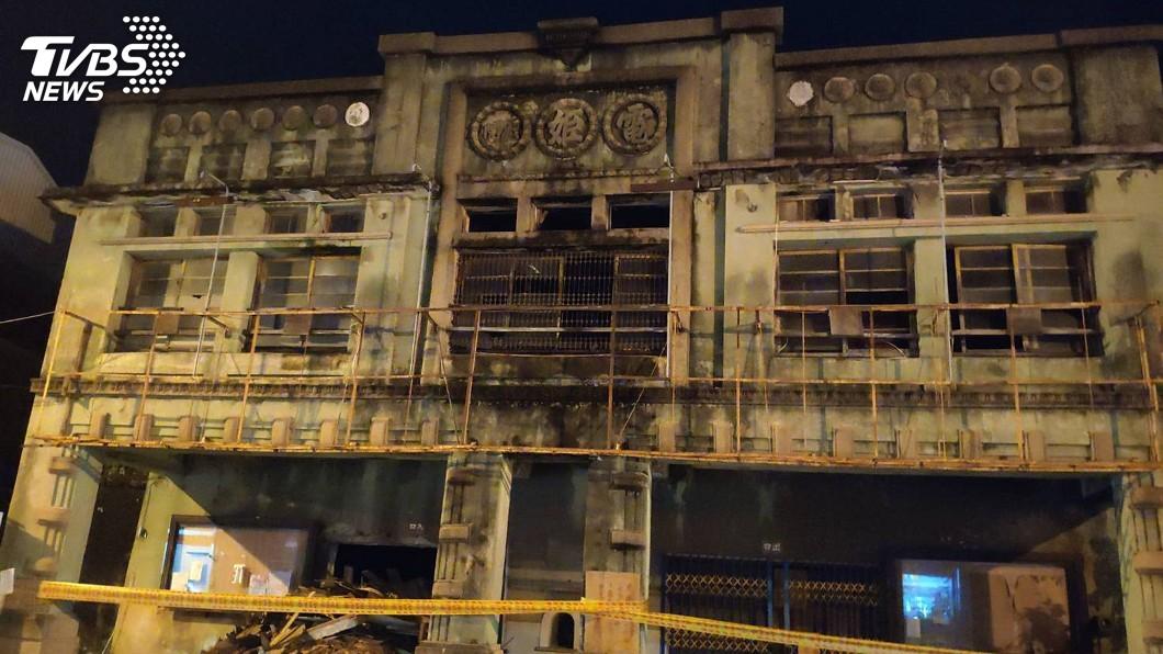 圖/中央社 老戲院整修建物惹議 台南市府盼擬對策