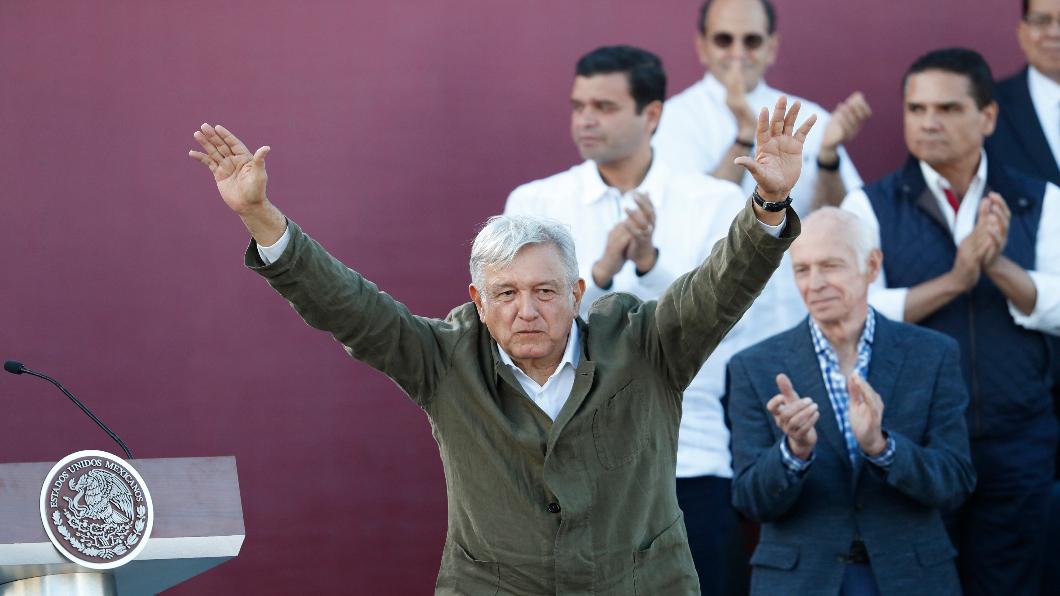 圖/達志影像美聯社 川普稱關稅戰奏效 墨西哥讓步嚴管邊界