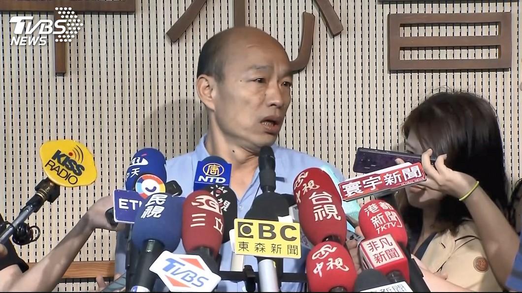 圖/TVBS 國民黨議員高分貝批市政 韓國瑜盼多溝通
