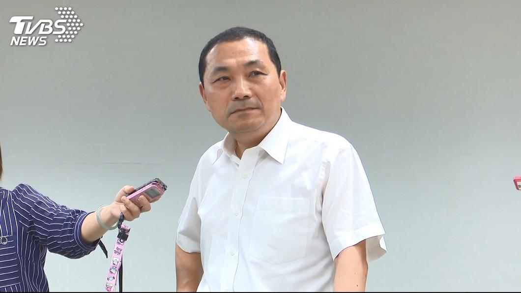 圖/TVBS 郭台銘退黨 侯友宜:優秀人才離開令人非常惋惜