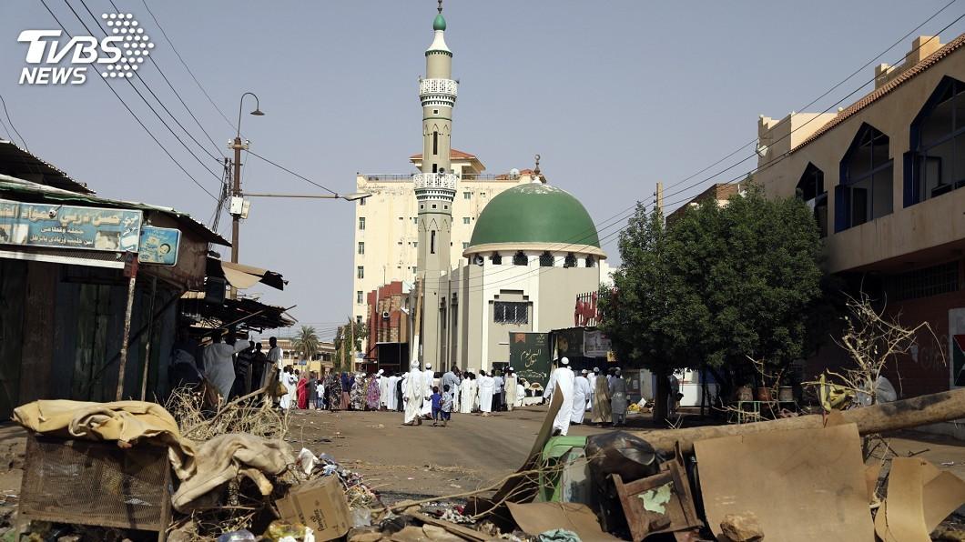 圖/中央社 蘇丹軍方血腥鎮壓 抗議團體同意恢復對談