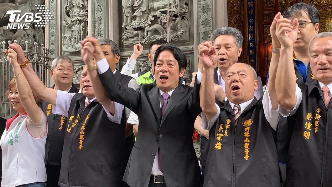 圖/中央社 民進黨初選民調將出爐 賴清德駁:我不是「金孫」