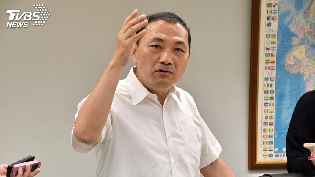 圖/中央社 怒撤換陳良德 侯友宜:態度不配擔任警分局長