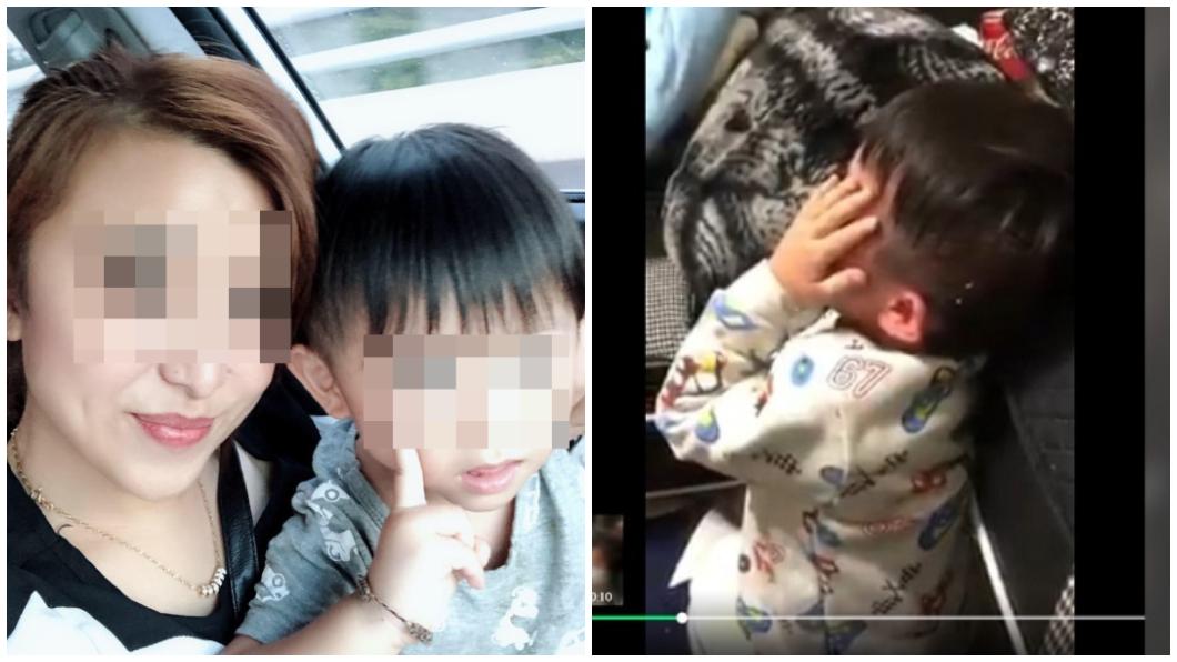 新北市蘆洲一名媽媽家暴虐待3歲小兒子,引發網友群情激憤。(圖/翻攝自臉書) 怨夫外遇氣出3歲小兒子 狠母酒醉失控暴打逼吃地上飯粒