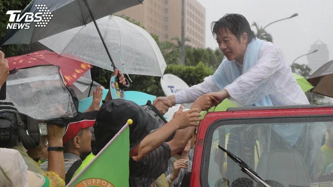 圖/中央社 聲望開高走低 賴清德飽嚐政治冷暖