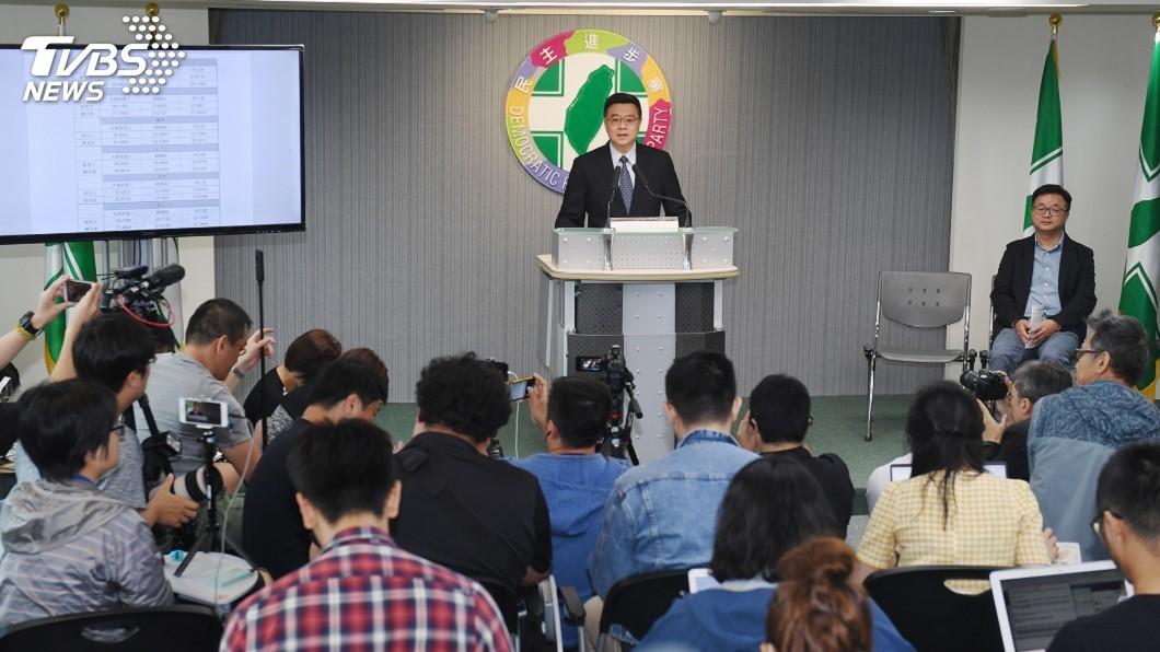 圖/中央社 卓榮泰:已找到最強候選人 啟動整合打選戰