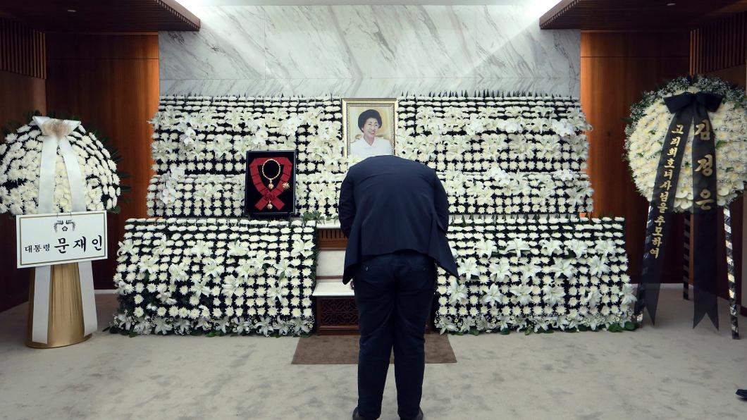 圖/達志影像美聯社 金大中遺孀97歲過世  北韓金與正弔唁
