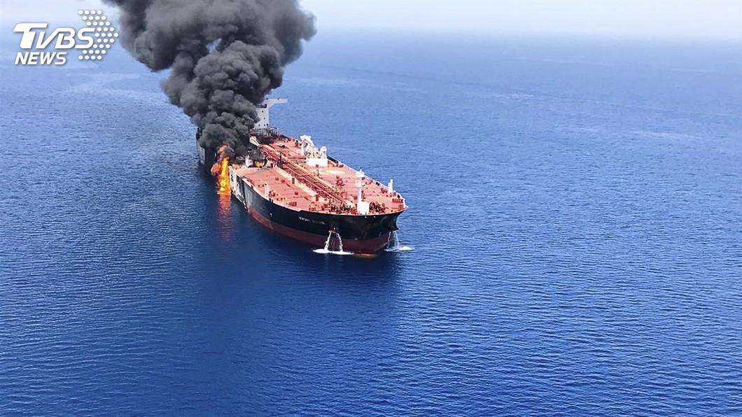 圖/達志影像美聯社 油輪遇襲矛頭指向伊朗 美軍:無意涉中東新衝突