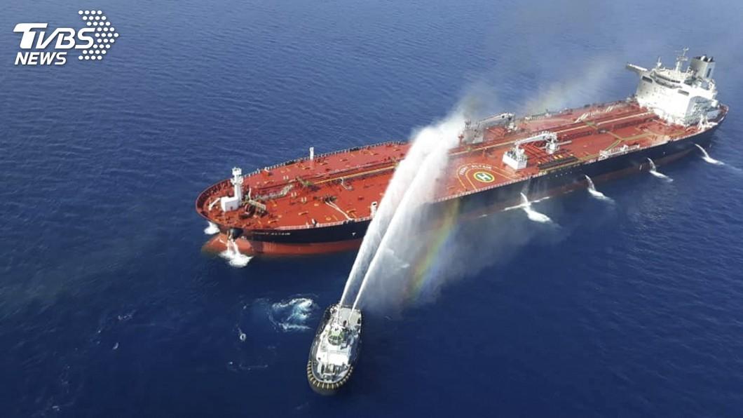 圖/達志影像美聯社 2油輪阿曼灣遇襲 美向安理會示警伊朗是幕後黑手