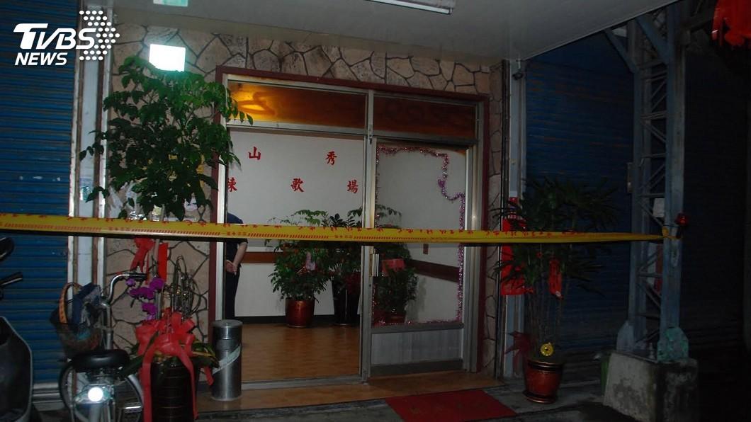 圖/中央社 台南偵查佐遭槍擊死亡 遺體僅右上臂有一彈孔