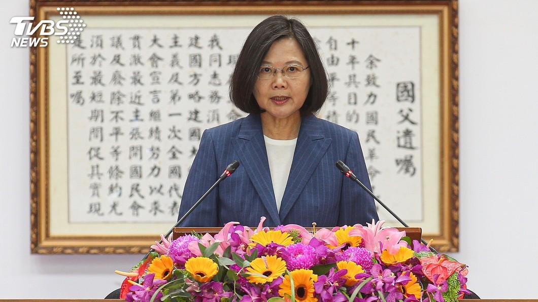圖/中央社 初選結果出爐 蔡總統:目前最重要是整合