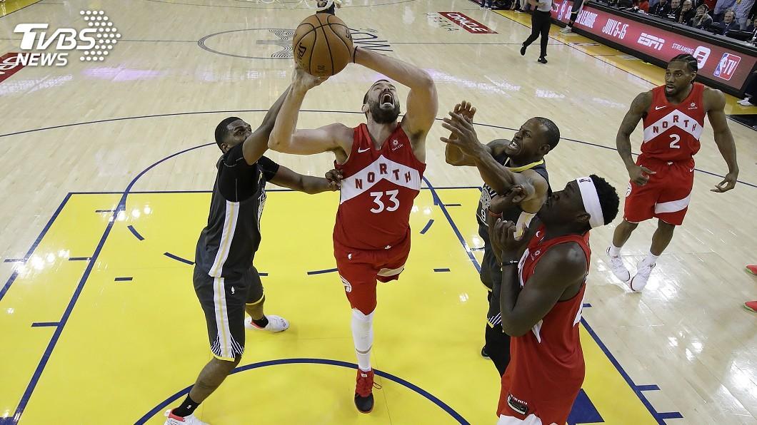 圖/達志影像美聯社 圓夢NBA生涯 加索成史上首對贏得總冠軍兄弟檔