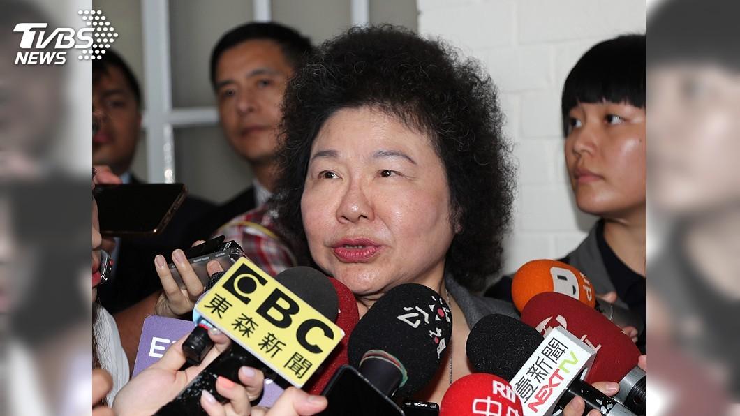 圖/中央社 民進黨初選後 陳菊:賴清德永遠是我的兄弟