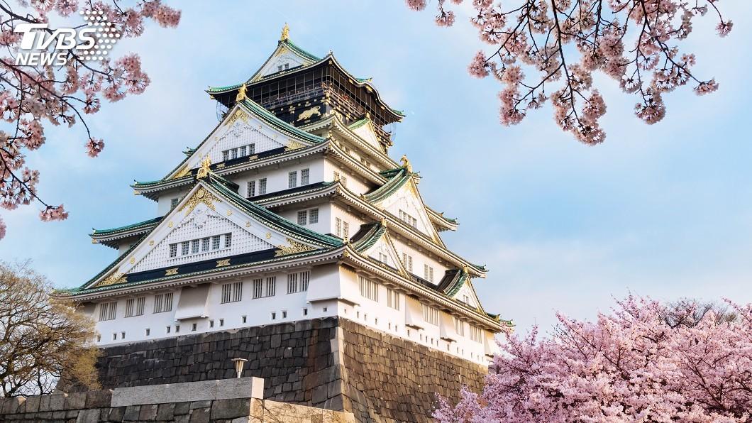 大阪城天守閣將在27日到28日暫時閉館。示意圖/TVBS 車停駛、店停業、垃圾桶停用 G20讓日本民眾生活停擺