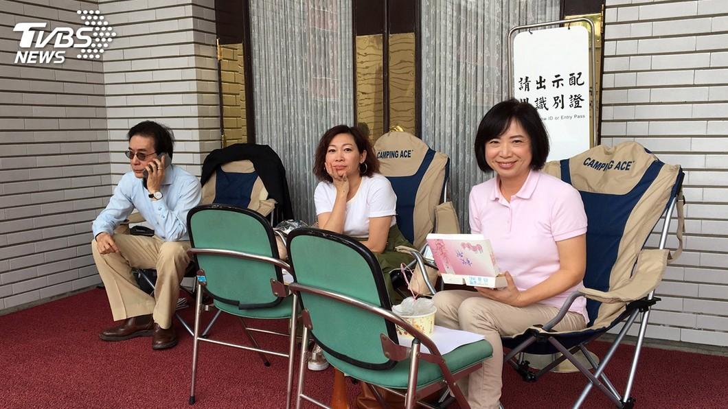 圖/中央社 確保臨時會議程安排 綠委議場前排班3天