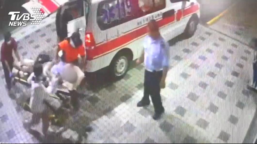 圖/TVBS 抓到了!殺警嫌犯內門落網 押回台南偵訊