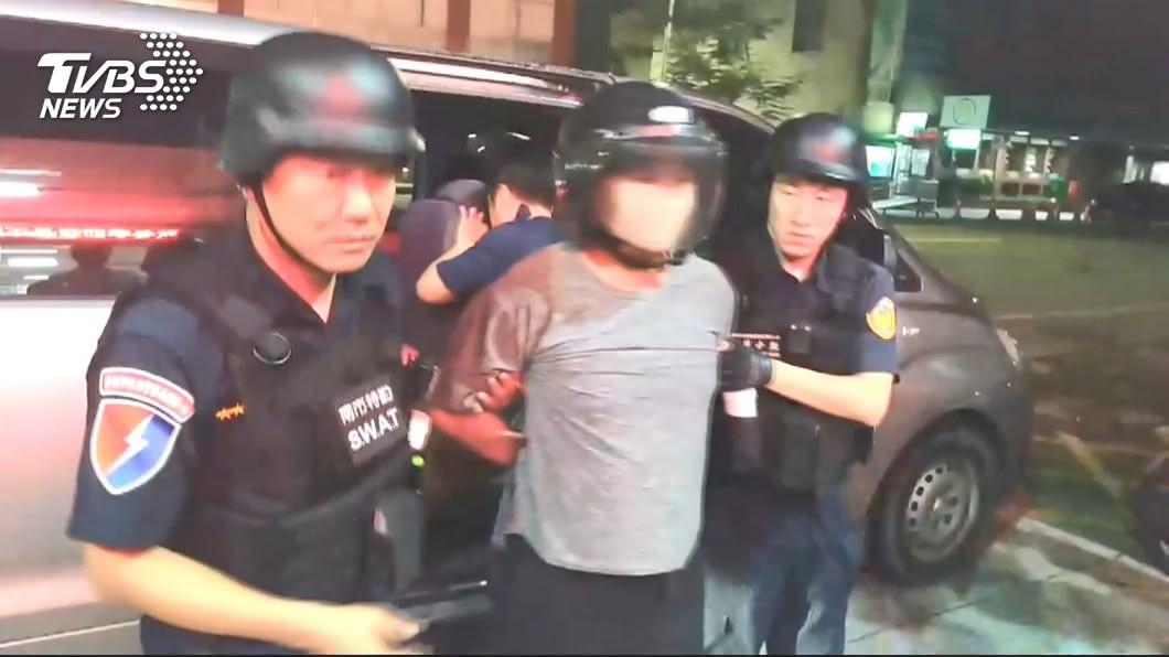 台南殺警案凶嫌梅文魁遭判無期徒刑定讞。(圖/TVBS) 台南練歌場殺警案 凶嫌梅文魁無期徒刑定讞