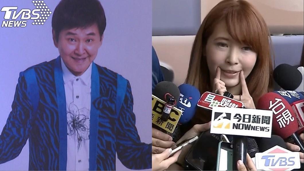 圖/TVBS 賀一航「嘴角含笑離開」!Makiyo仰頭忍淚為他上妝
