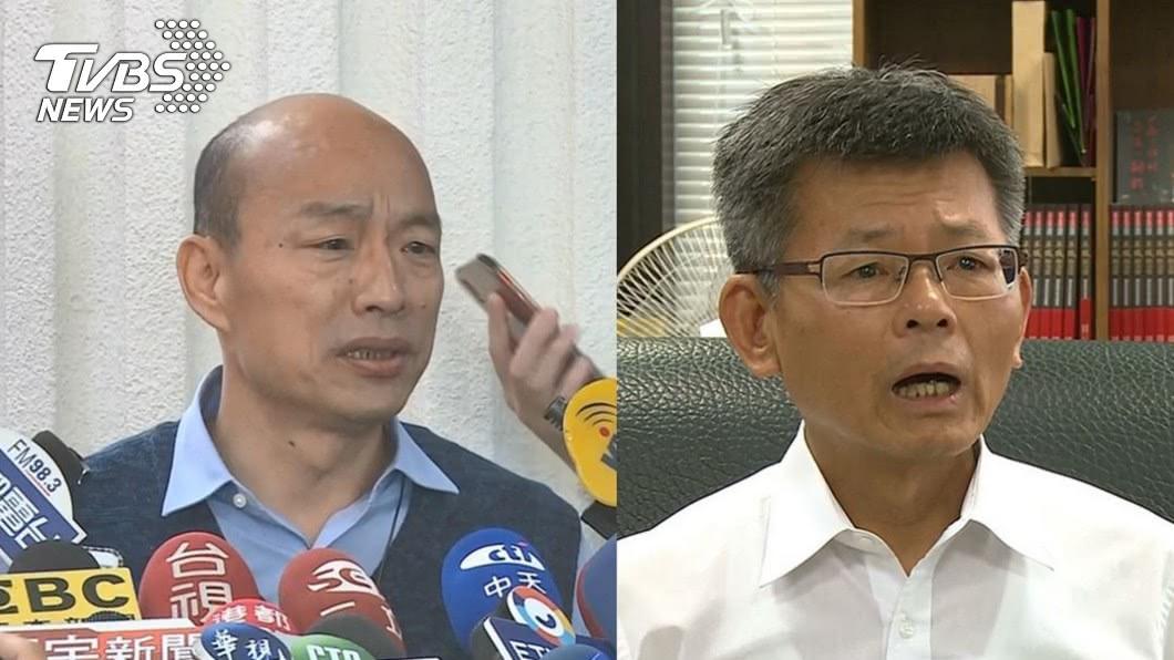 合成圖/TVBS 楊秋興力挺黃光芹「沒背離事實」 不懂韓國瑜要告什麼