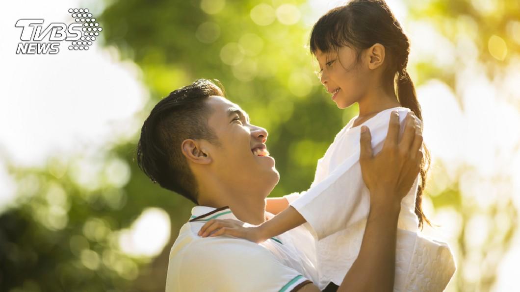 父女情深模樣令人動容。示意圖/TVBS(非當事人)