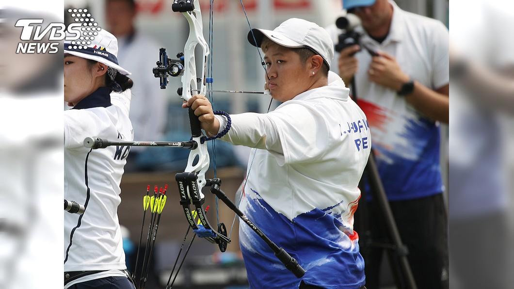 複合弓女將黃逸柔。圖/中央社 八仙塵爆浴火重生!她忍三度灼傷 為台灣奪下世錦賽金牌
