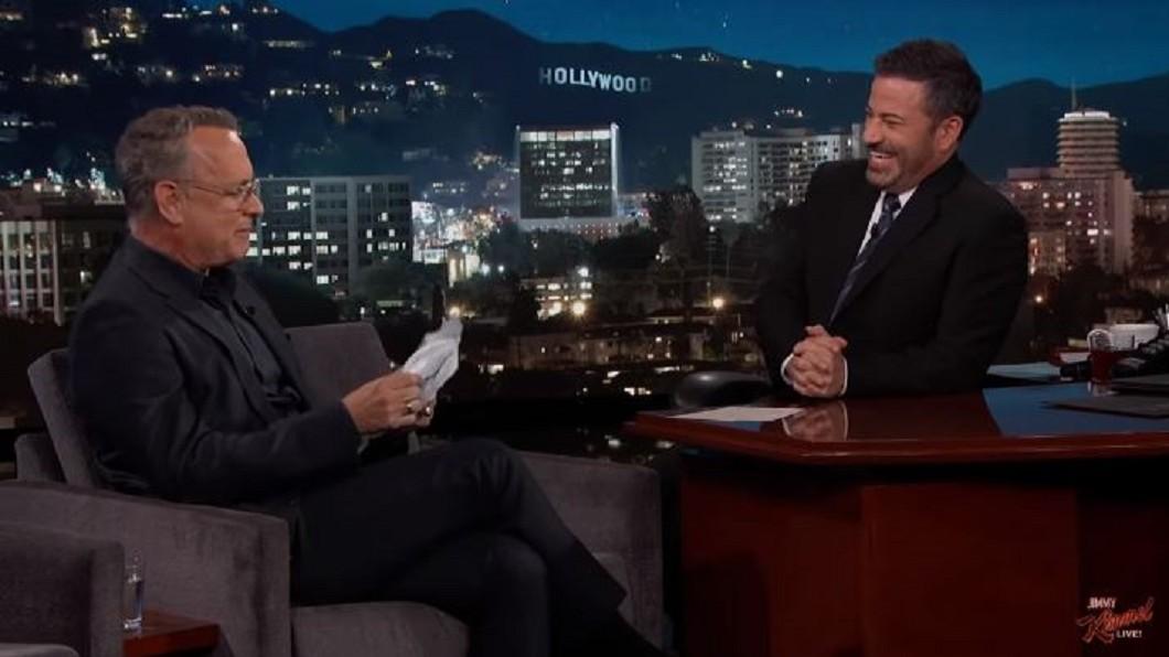 圖/翻攝自Jimmy Kimmel Live youtube