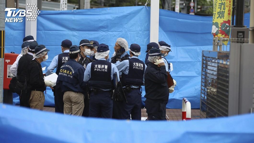 圖/達志影像美聯社 大阪男持菜刀砍警察 搶走內有5發子彈配槍